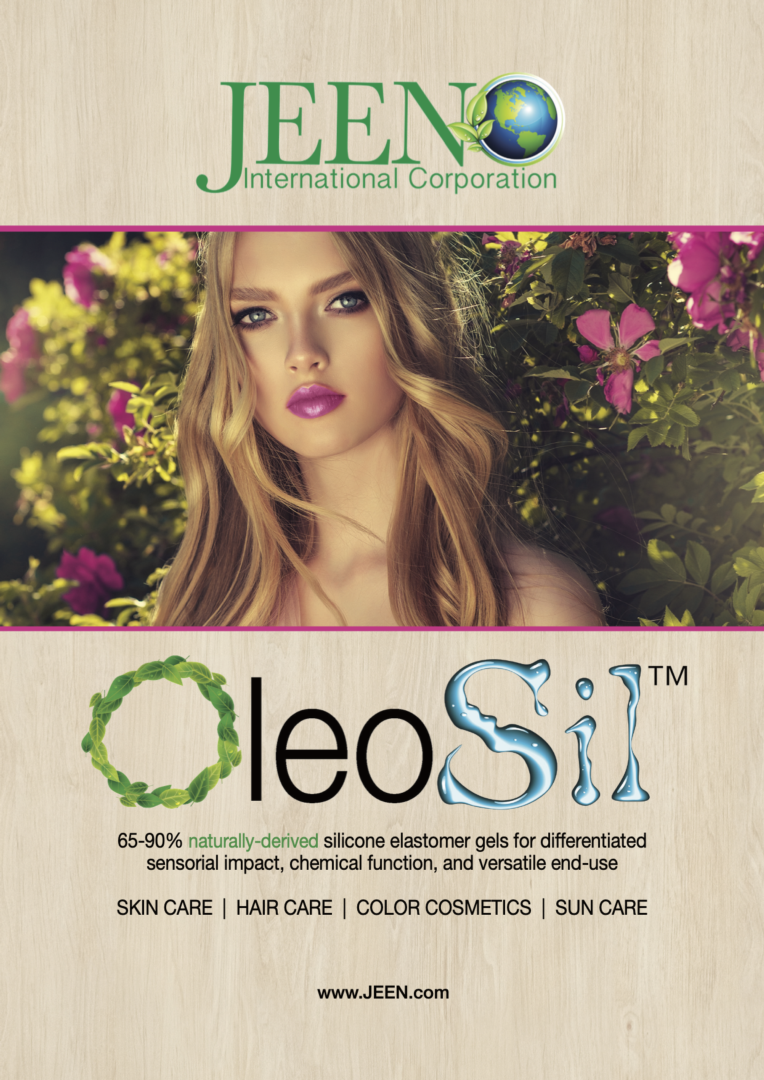 OleoSil - Where Luxury Meets Texture, The Clean Way, JEEN International Corporation